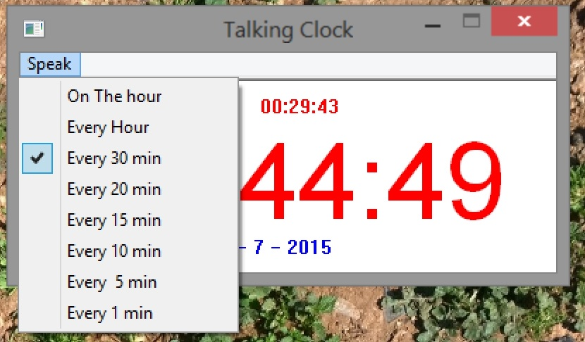 Talking Clock visual c++ project – Programming Tutorials And
